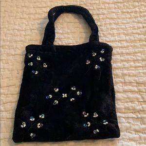 Handbags - Velvet Wrist bag